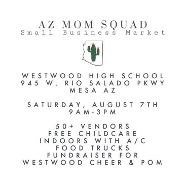local boutique information flyer