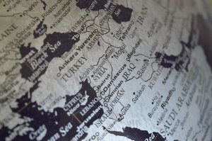 Middle East map - Learn how to reduce costs when shipping goods from the Middle East.