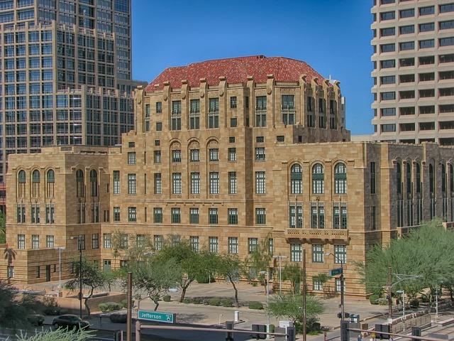 A building in Phoenix.