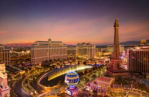 The La Vegas Strip that you will see once you will see after leaving Arizona and moving to Nevada.
