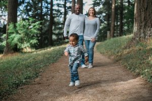 Family Child Forest - Arizona family moving to Colorado