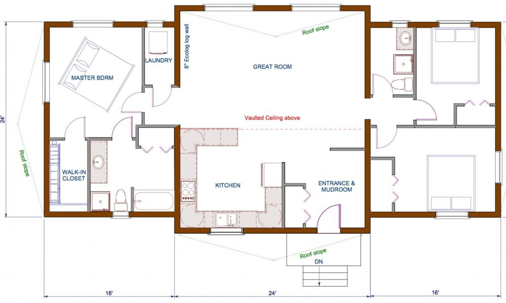 Best Of Open Concept Floor Plans For Small Homes
