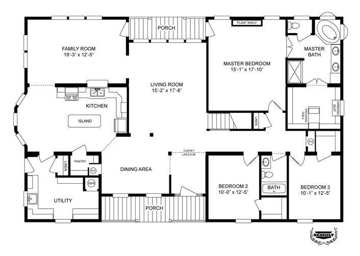 New Clayton Modular Home Floor Plans