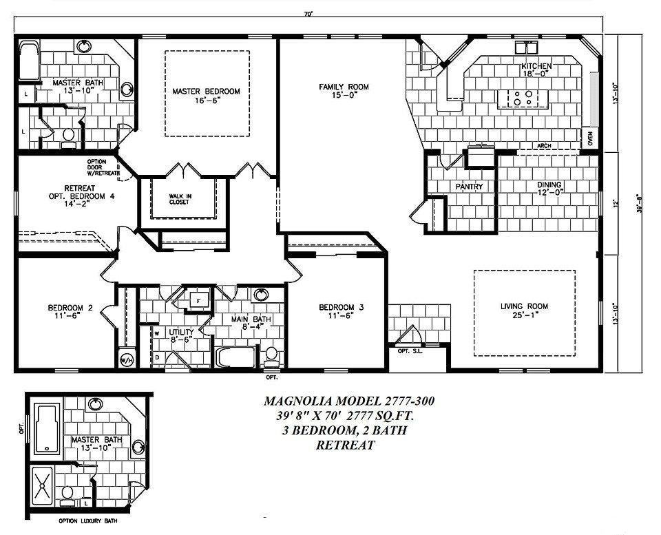 Luxury Magnolia Homes Floor Plans