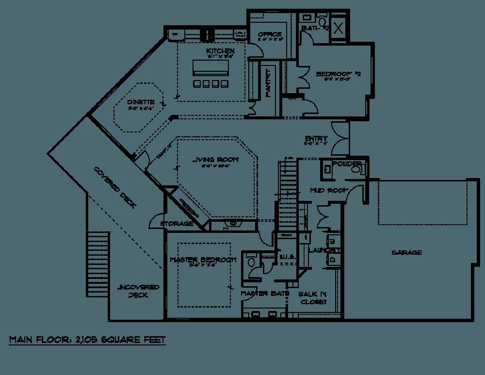 Amazing Omaha Home Builders Floor Plans