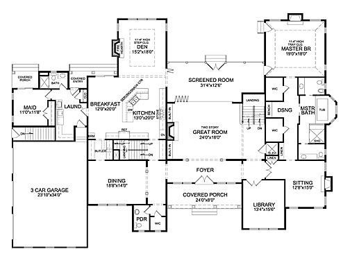 Awesome 6 Bedroom Ranch House Plans