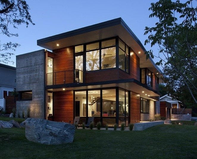 Amazing Modern Industrial House Plans  New Home Plans Design