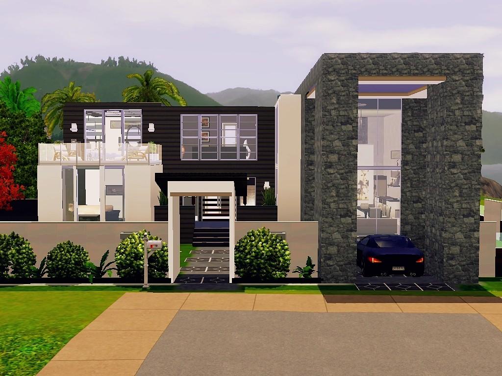 Unique Modern Sims 3 House Plans