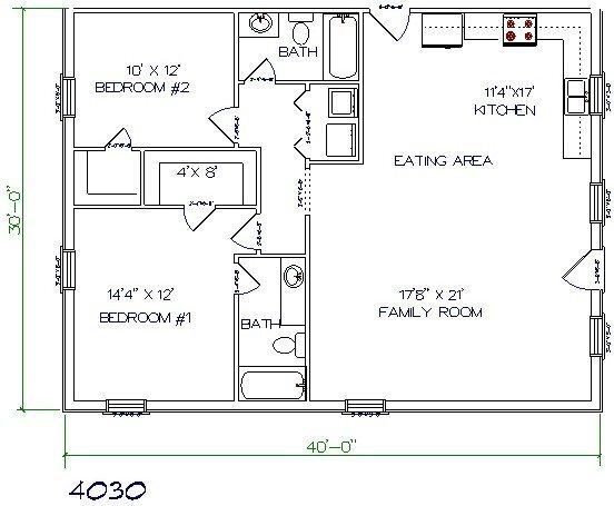 Floor Plan 30x30 2 Story House Plans Novocom Top