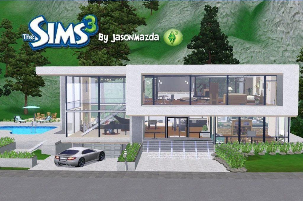 Best Of Modern House Floor Plans Sims 3