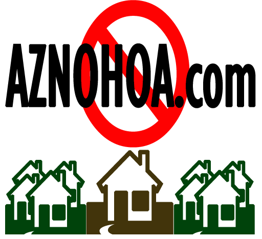 AZ Homes For Sale with No HOA