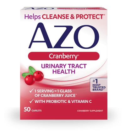 Our AZO Cranberry® Caplets Supplement Supports Urinary Health*