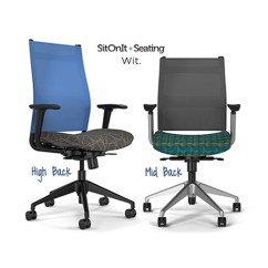 Ergonomic Chair Rental Covers Christmas Tree Shop Sit On It Wit Mesh Task - Arizona Office Furniture