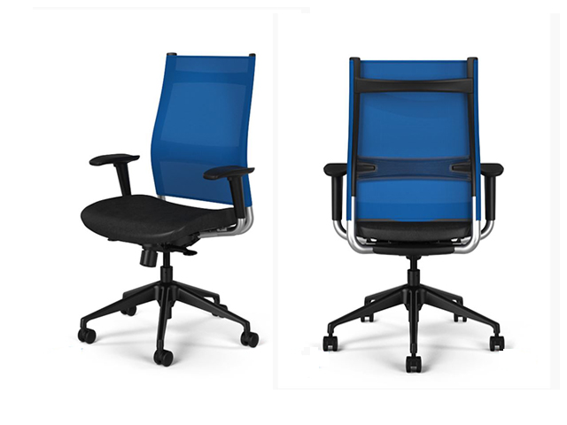 chair lumbar support wheelchair leg rests sit on it wit mesh task - arizona office furniture