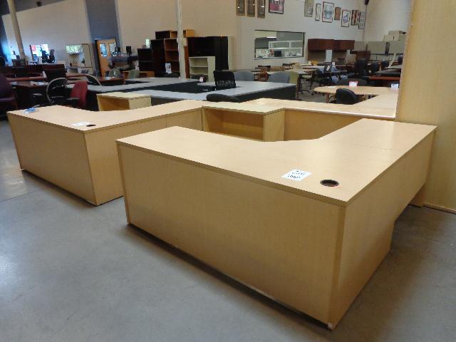 Used L Shape Desks Various Manufacturers  Arizona Office