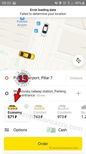 Russia Yandex.Taxi Yandex Taxi Prenotare Noleggiare rent prezzi costi costare costa prenotare russian how to come fare per time money app applicazione application
