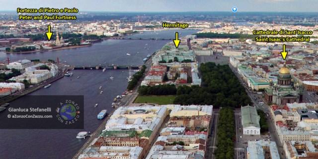 La cattedrale di Sant'Isacco è un altro luogo da non perdere se farai visita a San Pietroburgo. Questa Cattedrale, intitolata a Sant'Isacco di Dalmazia, vanta una delle cupole più grandi del mondo.