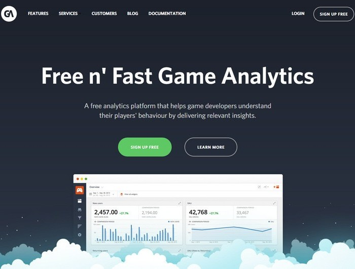 Free Analytics for Game Developers
