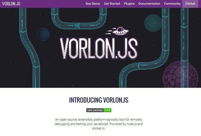 Debugging and Testing your JavaScript with Vorlon.js