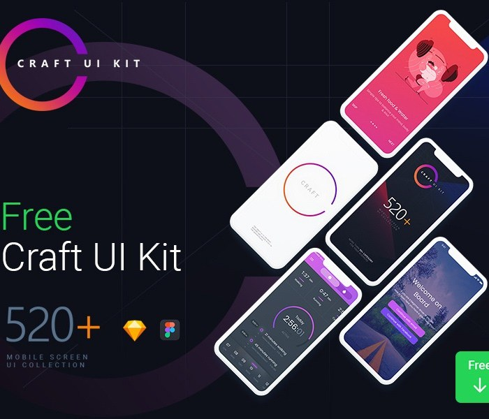 Craft UI Kit for Mobile Apps