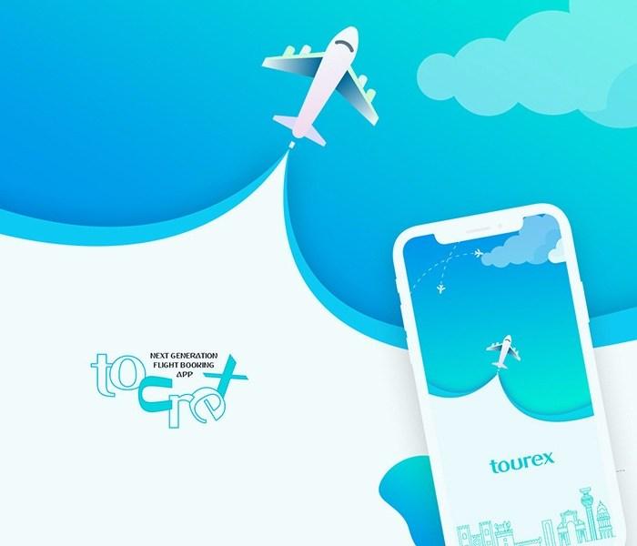 Tourex App Mockups: Free UI Kit for Adobe XD