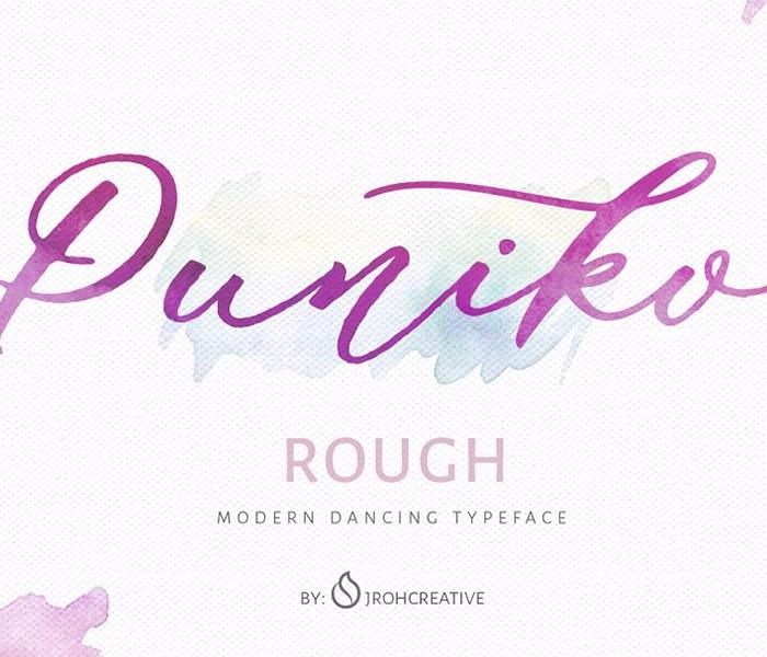 Puniko Rough Script Demo