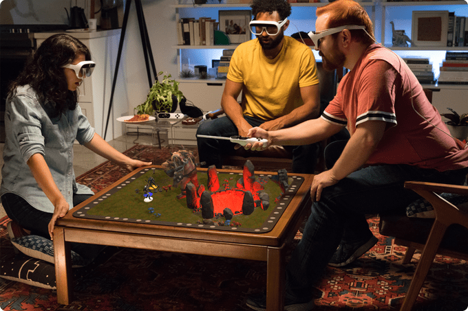 Holographic Tabletop Gaming: New Kickstarter from Jeri Ellsworth raises $630,000+ within 2 Days