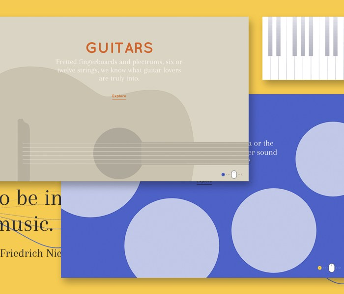 Interactive Musical Instruments with Javascript and Web Audio API