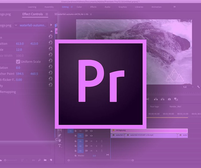 Tutorial: Adding a Logo to Video in Adobe Premiere Pro