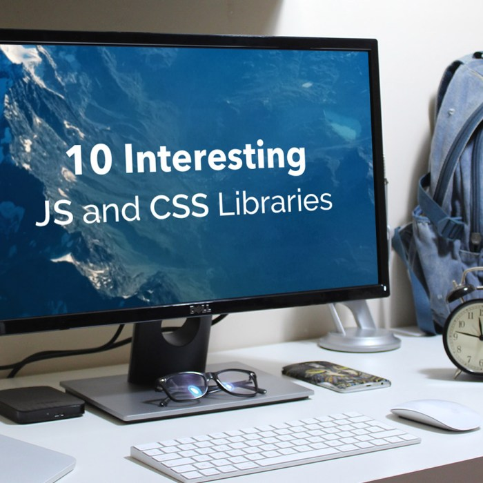 10 Interesting JS and CSS Libraries for September 2019