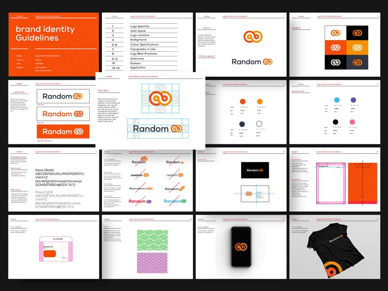 Brand Identity Guidelines Template: Freebie for Illustrator