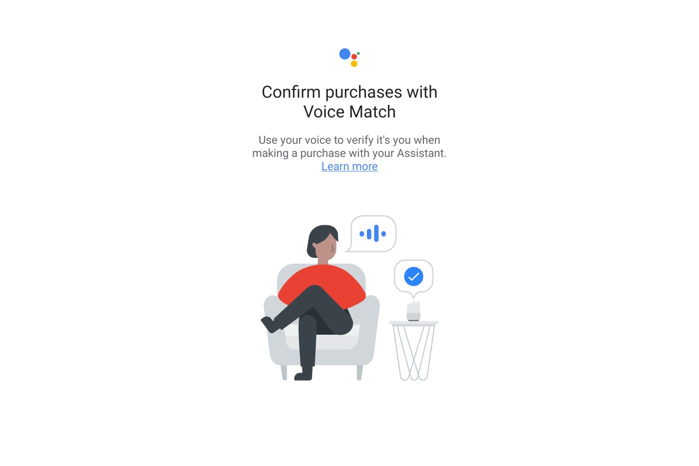 Google is testing its voice matching technology to secure Google Assistant purchases