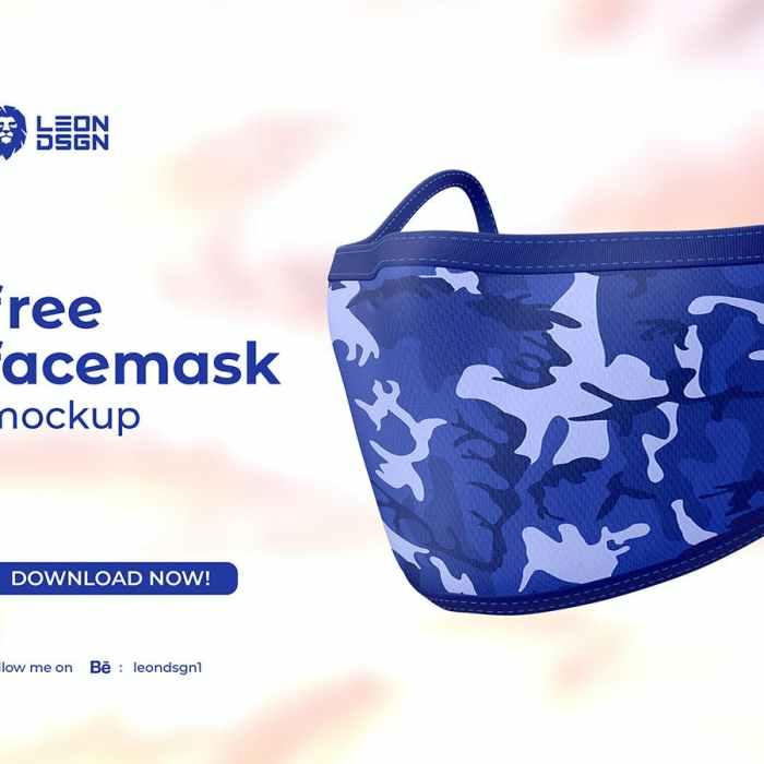 Freebie: Facemask Mockup