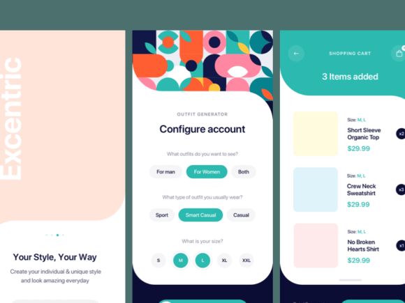 Outfitr: A UI kit for fashion apps