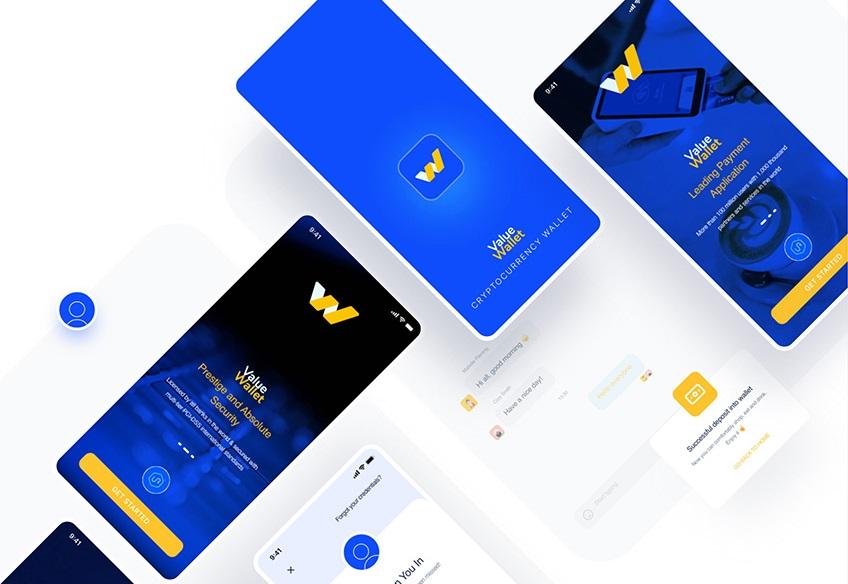 Digital Wallet Mobile App Design