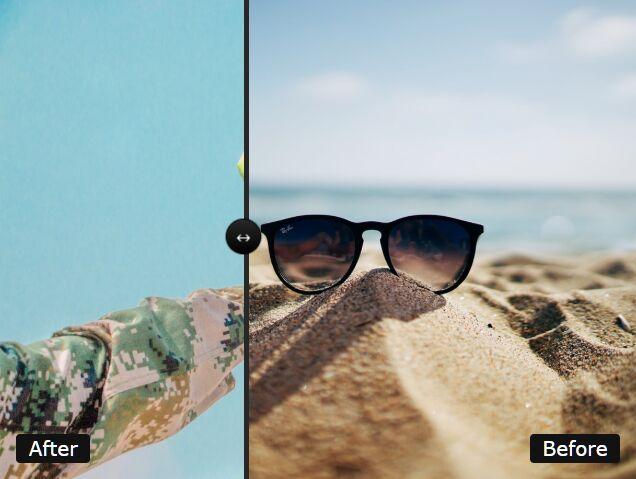 before-effect-slider.js: Customizable Image Comparison Plugin For Web