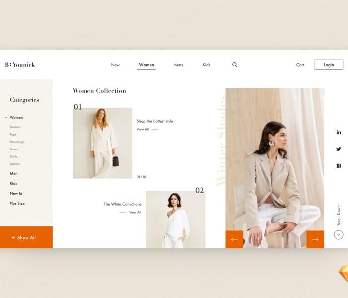 Fashion E-Shop Website Template