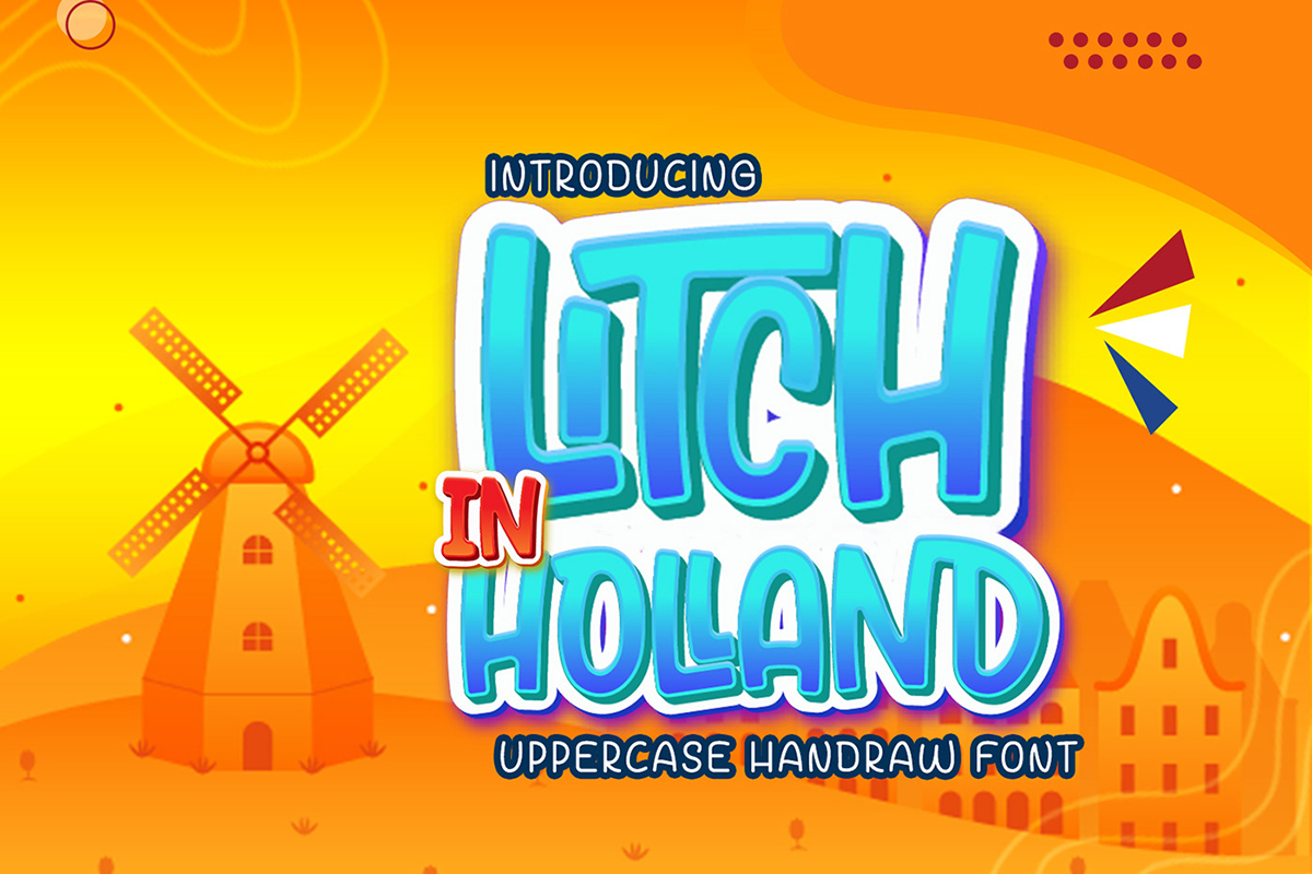 Litch In Holland: Free Handwritten Font