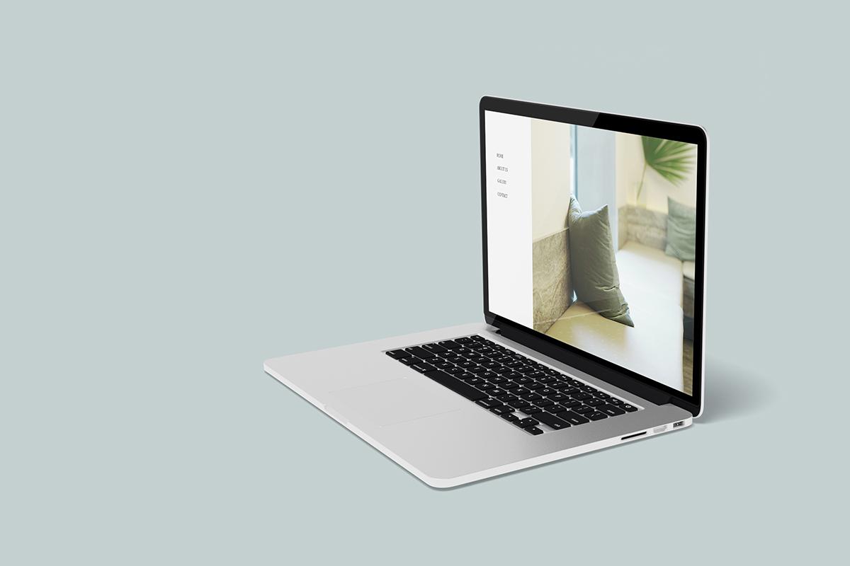 Free Clean MacBook Mockup