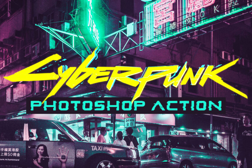 Tutorial: Turn your Photos with Cyberpunk Effects in Photoshop