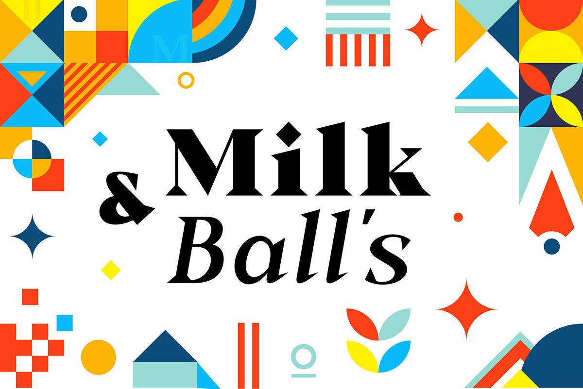 Milk And Ball's Font