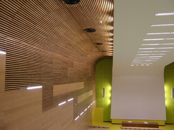 AZ Plafonds  Le plafond bois et le plafond mtallique