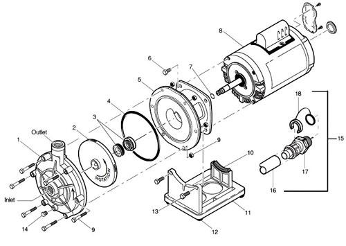 Polaris Booster Pump Parts