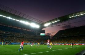 Soccer: World Cup-Brazil vs Croatia