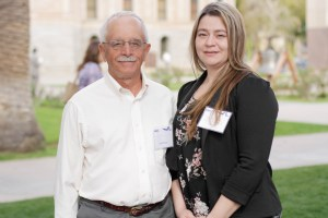 AZPTAC Procurement Specialist Bob Mucci with Success Award Winner, Melissa Salcido