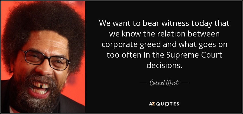 300 QUOTES BY CORNEL WEST [PAGE - 10]