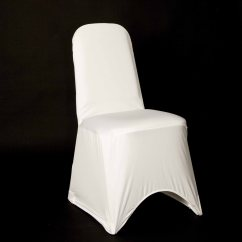 Used Spandex Chair Covers Recaning A Lycra Cover White Z Reliant Catering Equipment