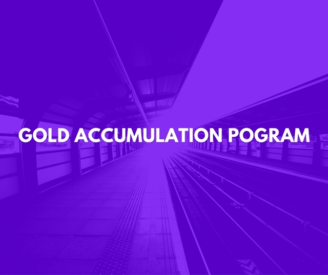 Gold Accumulation Pogram