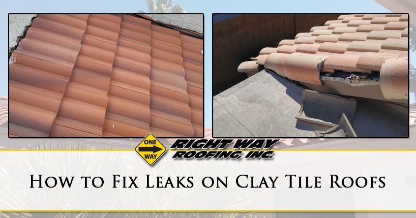 how to fix leaks on clay tile roofs