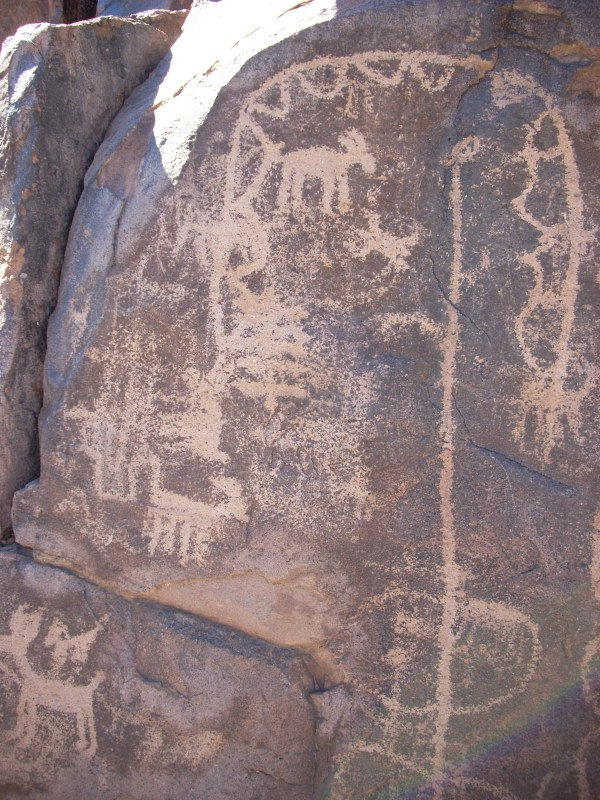 Hieroglyphics Trail Petroglyphs Arizona Ruins &